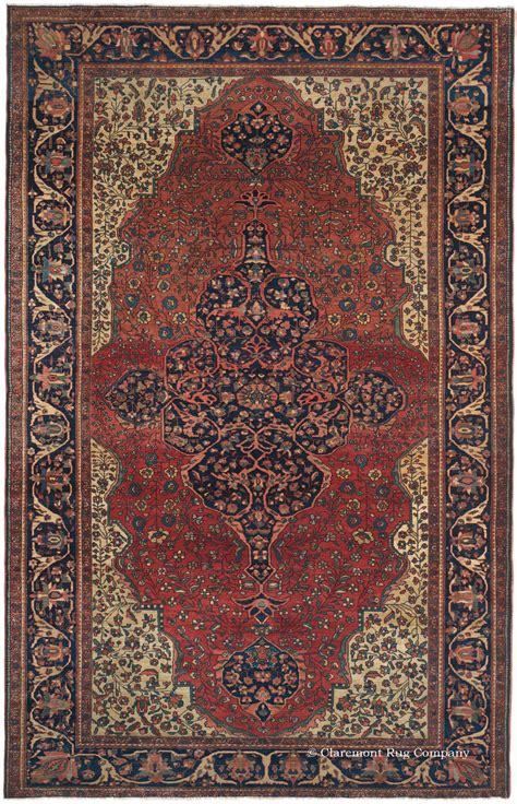 claremont rug antique ferahan sarouk rug with tones