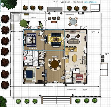 Dog Trot House Plans Created This Dream In Floor Planner Trot House Plan