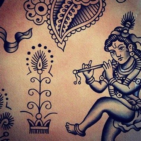 tattoo maker surat gujarat tattoo traditional krishna and mehndi on pinterest