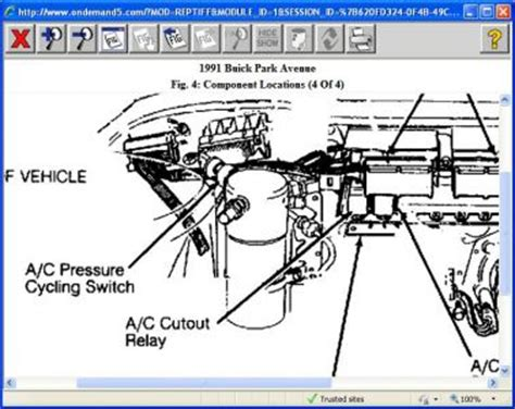 service manual small engine maintenance and repair 1991 buick park avenue parking system