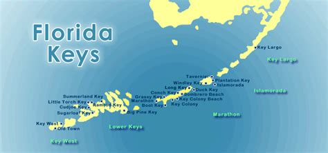 Florida Keys Map by Visit The Florida Keys