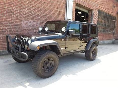 Jeep Wrangler For Cheap Buy Used 2007 Jeep Wrangler Unlimeted With Lift Kit Only