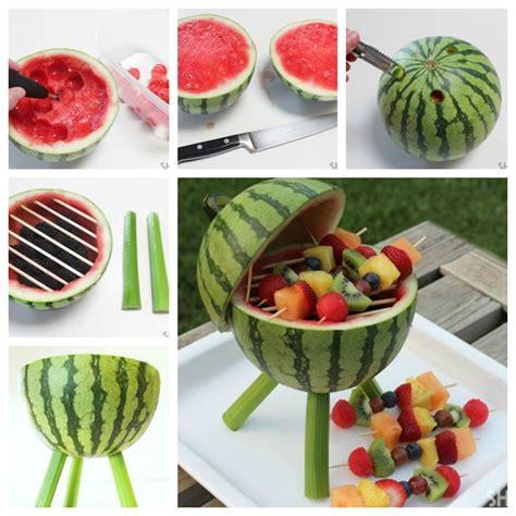 watermelon centerpiece ideas wonderful diy creative watermelon grill centerpiece