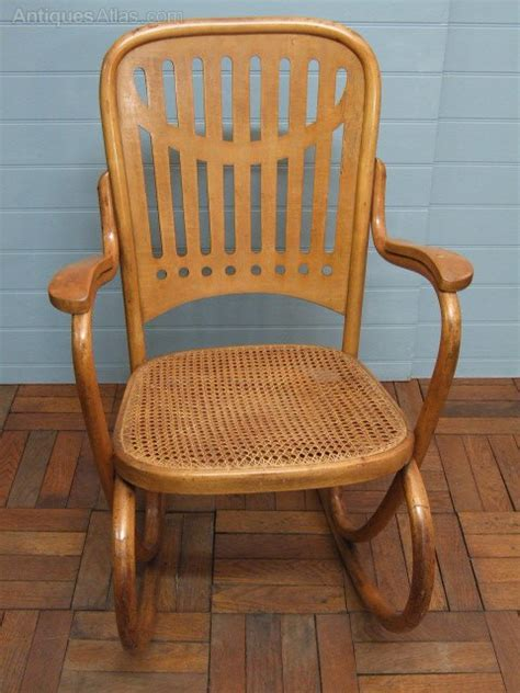thonet bentwood rocking chair no 1 antiques atlas secessionist bentwood chair by thonet antiques atlas