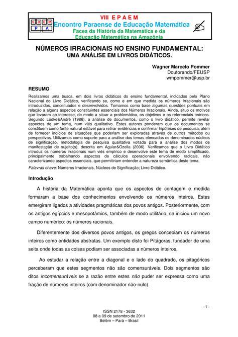 Exemplo De Analise De Livro Didatico - Vários Exemplos