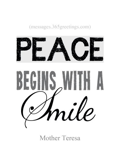 70+ Peace Quotes and Sayings - 365greetings.com