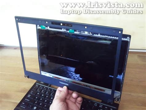 Flexi Lcd Netbook Portege toshiba portege r835 r830 screen removal guide
