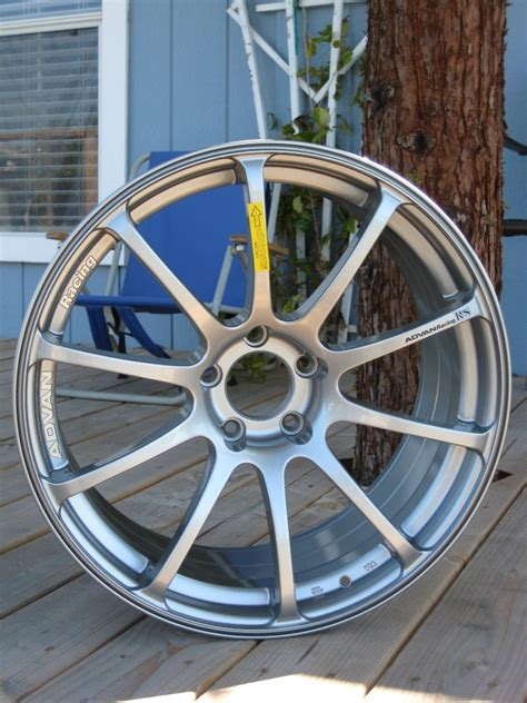 Advan 10 Inchi 19 inch silver advan rs wheels g35driver