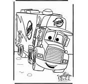 Mac El Camino De Cars  AZ Dibujos Para Colorear
