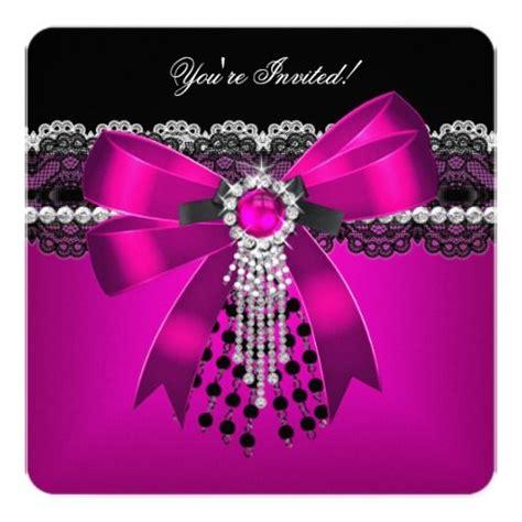 girly diamond wallpaper elegant pink black diamond lace party 2 card lace pink