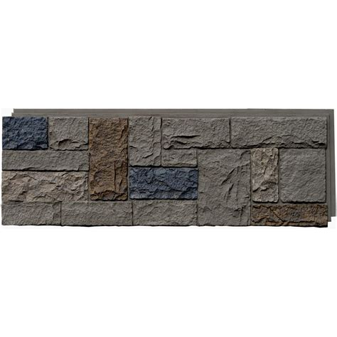 Kitchen Designer Courses by Shop Genstone Stacked Stone 28 Sq Ft Stratford Faux Stone