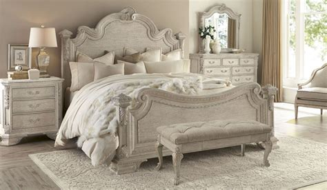 dove grey bedroom furniture renaissance dove grey estate bedroom set from art 243155