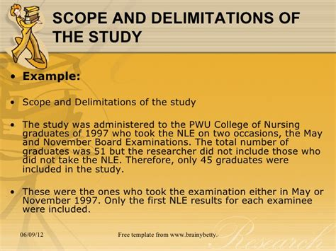 exle of thesis scope and limitation the structure of a compare or contrast essay writing itu