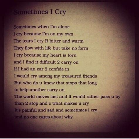 Sometimes I Cry | the gallery for gt i love my mom poems that will make you cry