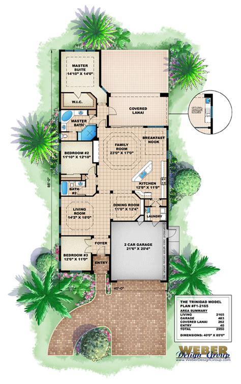house plans trinidad trinidad house plan weber design group naples fl