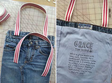 tutorial tas dari celana bekas 10 ide kreatif mengubah celana jeans bekas mobgenic