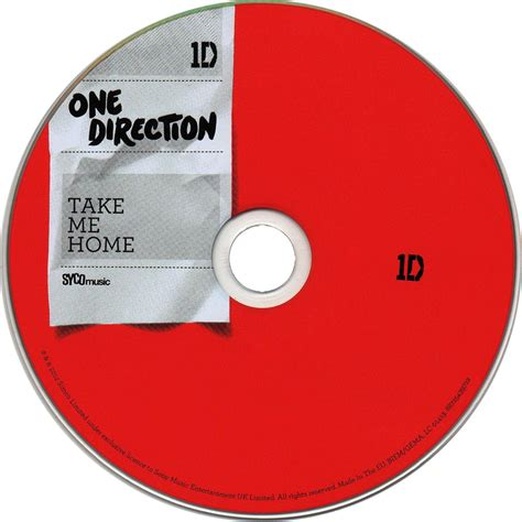 car 225 tula cd de one direction take me home portada