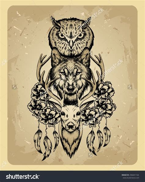 totem tattoo best 25 totem ideas on