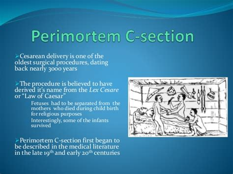 perimortem caesarean section cardiopulmonary 20 resuscitation 20during 20pregnancy