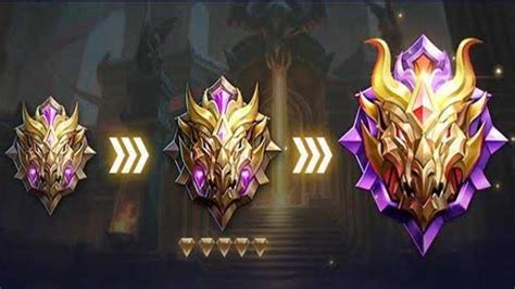 tingkatan rank  mobile legends ml urutan levelnya