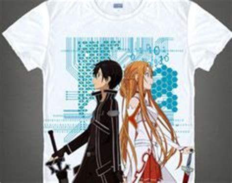 Kaos T Shirt Unisex Anime Sao Sword Kirito Asuna 1 sword kirito vs nicholas the renegade