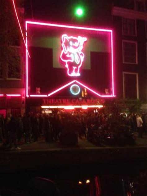 casa rosso amsterdam theater casa rosso ticket picture of casa rosso