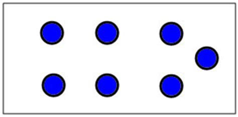 dot pattern on dice untitled document www langfordmath com