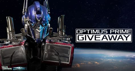 optimus prime transformers giveaway sideshow collectibles - Prime Giveaway