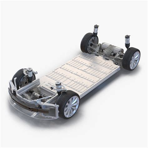 Tesla Chassis 3d Tesla S Chassis Modeled