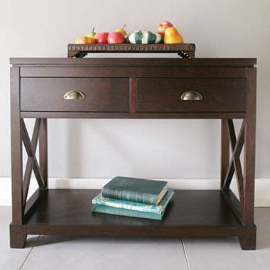 jcpenney sofa table console tables consoles and nicholas d agosto on pinterest