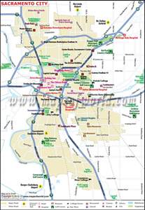 sacramento california map map of sacramento map3