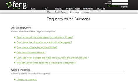 faq section new faq section on our website 171 feng blog