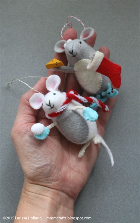 Handmade Mice - mmmcrafts handmade gifts 2015 a mouse for thing 1