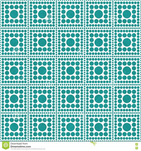 background design repeat teal and white polka dot square abstract design tile