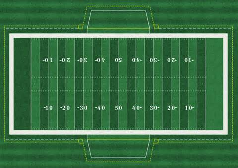 football field template nfl and nfhs football field templates concepts chris