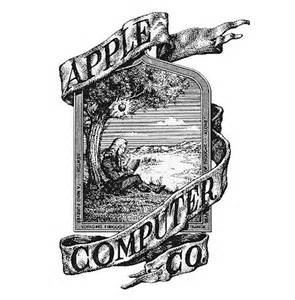 History of the apple logo fine print blog