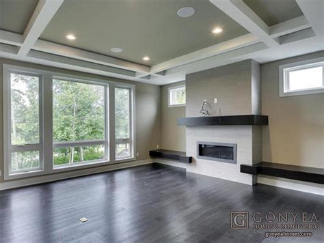 Modern Coffered Ceiling Modern Design Touches