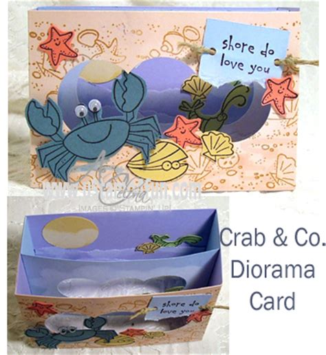 template diorama card crab co diorama card ust4fun celona