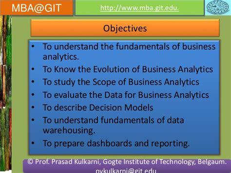 For Mba Business Analytics by Business Analytics Module 5 14mba14 According To New Vtu