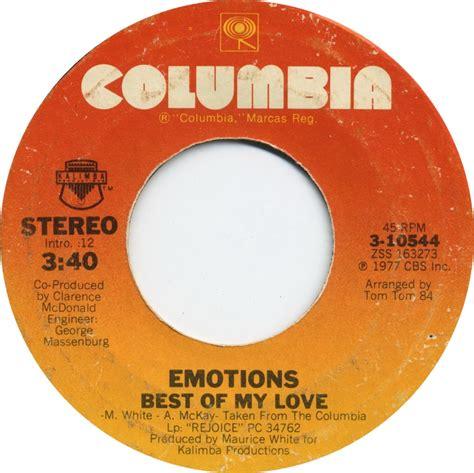 best of my emotions us top 40 singles week ending 10th september 1977