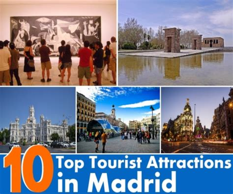 top 10 tourist attractions in image gallery madrid attractions top 10