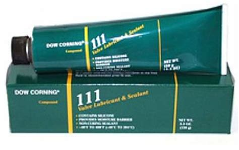 dow corning 111 general purpose o ring and valve lubricant sealant creative engineering
