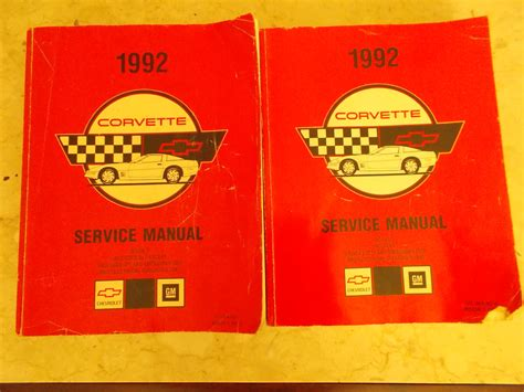book repair manual 2001 chevrolet corvette parking system service manual car repair manuals online pdf 1992 chevrolet corvette free book repair manuals
