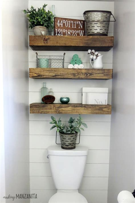 Farmhouse master bathroom reveal making manzanita