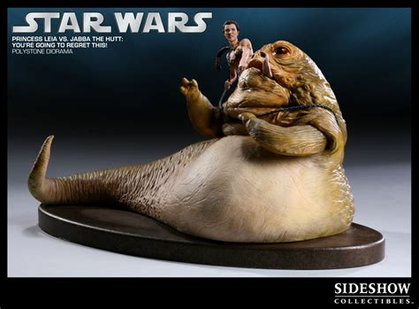 jabba der hutte you re going to regret this princess leia vs jabba the