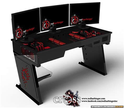 Gaming Computer Desks Gaming Computer Desk Pdf Woodworking