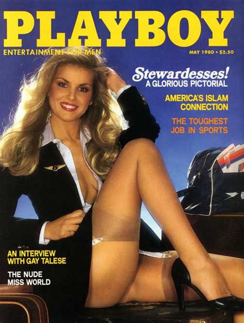 United Airlines Stock by Back Issues Playboy 1980