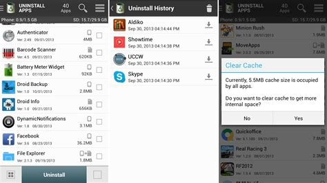 uninstall app android uninstallapps an easier and more intuitive way to uninstall android apps with