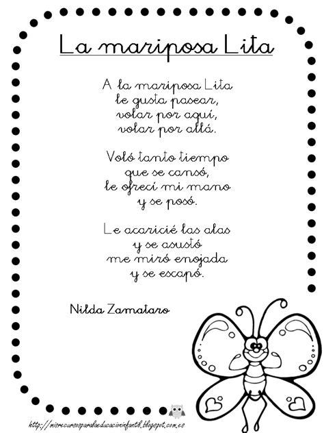 poesias y adivinanzas de mariposas leyendo leyendo disfruto y fichas infantiles poema infantil de la mariposa play