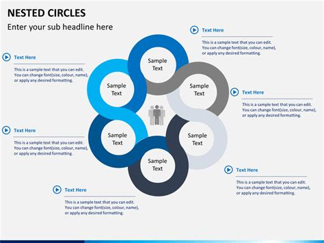 circle diagram nested circle diagram powerpoint sketchbubble